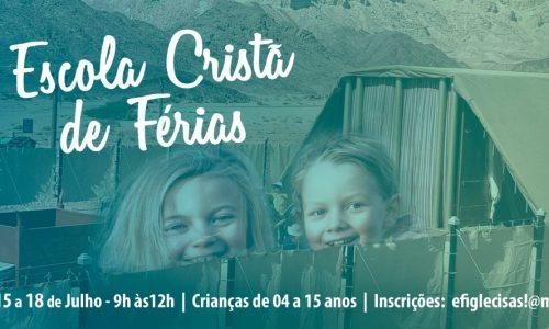 ESCOLA CRISTÃ DE FÉRIAS