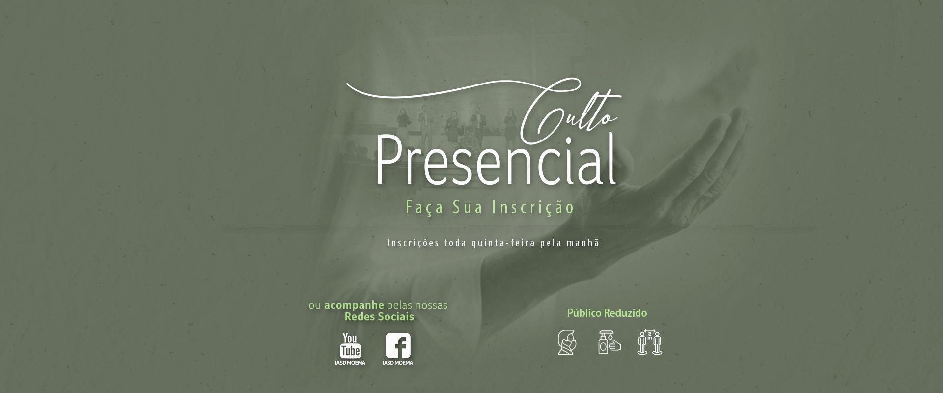 Culto Sábado – 19 de Junho – 9h – Pr. Fernando Iglesias